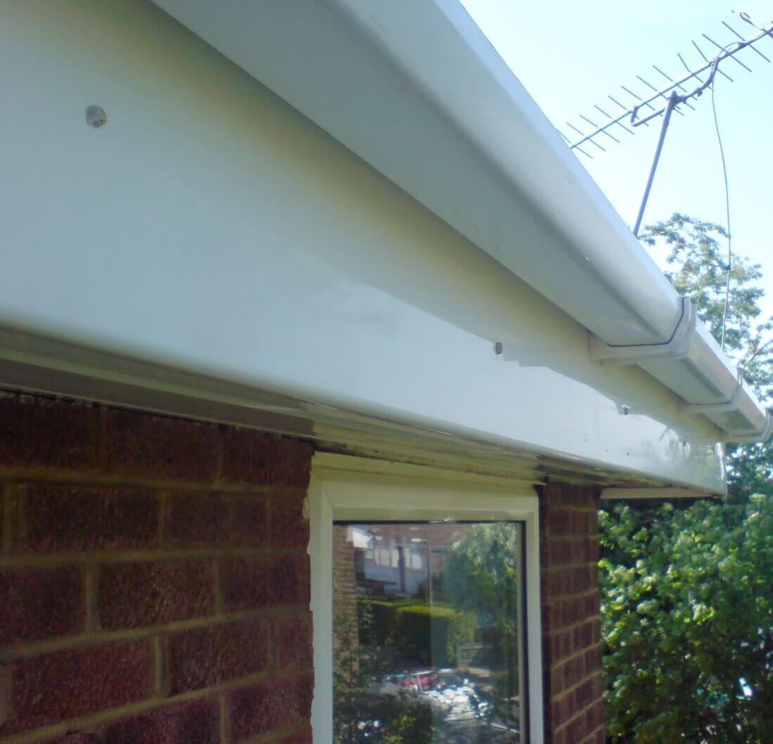 Facia & Guttering UPVC Cleaning Saffron Walden Essex